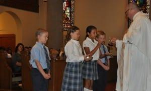 sms kids at mass